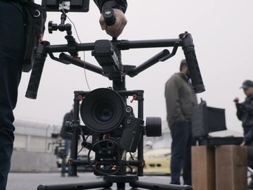 Rent: DJI Ronin MX w. Flight Case + Monitor Mount