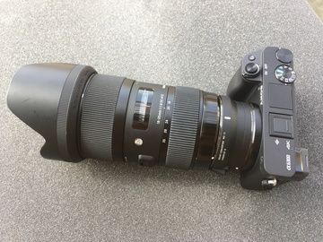 Rent: Sony a6300 + Sigma 18-35 f1.8 Art Lens + Batts + SD Cards