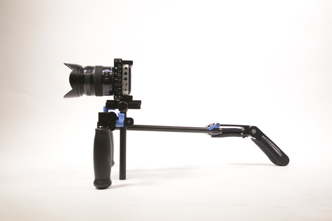 Black Magic Pocket Cinema Camera Handheld package