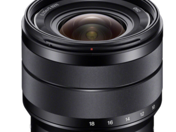 Rent: Sony E 10-18mm f/4 OSS Lens