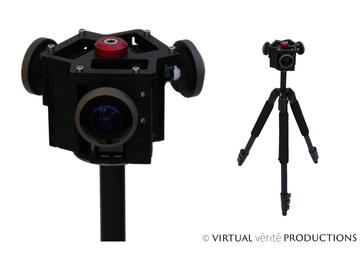 Rent: 3x Entaniya / Backbone Modified GoPro VR Array