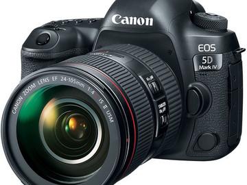 Rent: Canon EOS 5D Mark IV Camera C-Log and 24-105mm f/4L II Lens