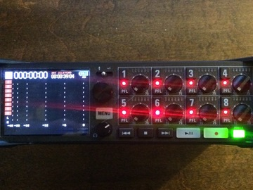 Rent: Zoom F8 Multi-Track Recorder with Rechargeable Battery