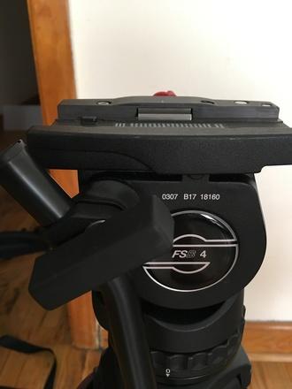 Sachtler FSB 4 Carbon Fiber Tripod - Fluid Head & Tripod
