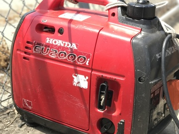 Rent: Honda Eu2000i Generator (1 of 2)