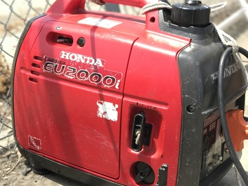 Rent: Honda Eu2000i Generator (2 of 2)