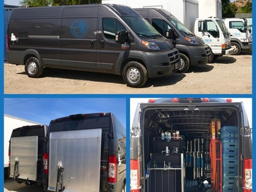 Rent:  Fun Ton Grip Van Package- Liftgate, Carted, Crated!