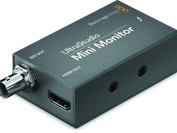 Rent: Blackmagic Design UltraStudio Mini Monitor