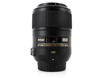 Rent: Nikon AF-S 85mm f/3.5G ED VR DX Micro