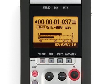 Rent: Zoom H4n Recorder