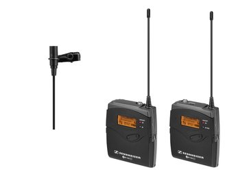 Rent: Sennheiser EW100 - G3 Wireless Lavalier Package