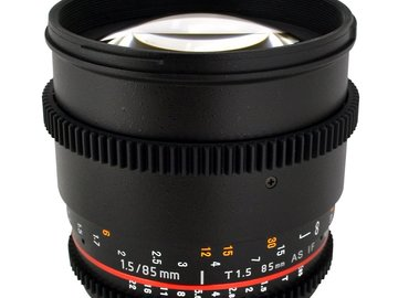 Rent: Rokinon 85mm T1.5 Cine EF Lens