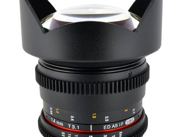 Rent: Rokinon 14mm T3.1 Cine EF Lens