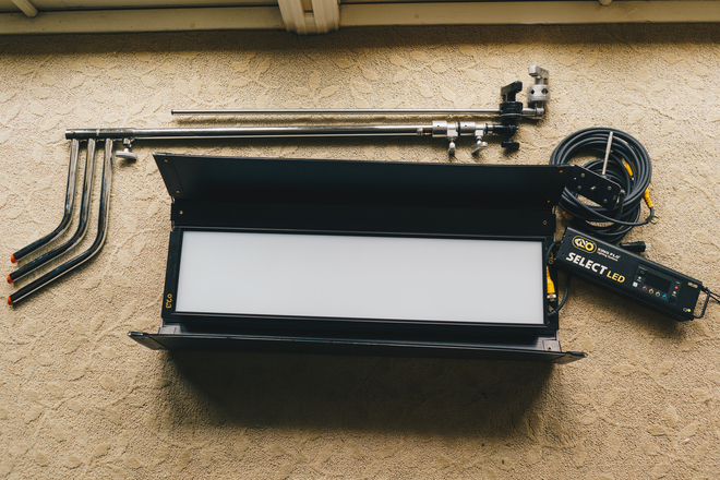 Kino Flo Select LED 30 DMX System Kit (w/ C Stand)