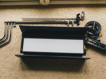 Rent: Kino Flo Select LED 30 DMX System Kit (w/ C Stand)