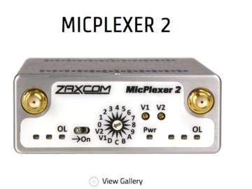 Rent: zaxcom Mic Plexor 2