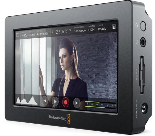 "Blackmagic Video Assist 4K 5"" Recording Monitor"