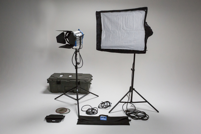 Arri 1k Package with Chimera