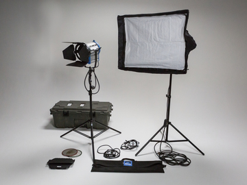 Rent: Arri 1k Package with Chimera