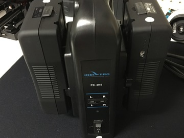 Rent: IndiPro  95Wh V-Mount Batteries