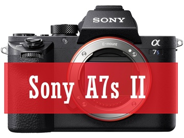 Rent: Sony A7s II + EF adapter + 7 batteries