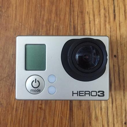 GoPro HERO3 Black + 3 Batteries + Selfie Pole + Mounts