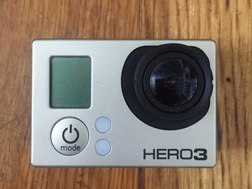 Rent: GoPro HERO3 Black + 3 Batteries + Selfie Pole + Mounts