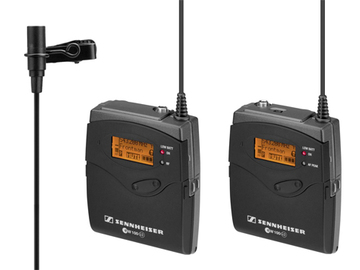 Rent: Sennheiser G3 Wireless Kit with Pelican Case, B-band Range