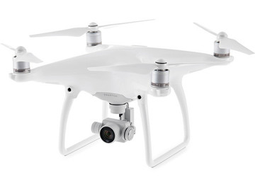 Rent: DJI Phantom 4 Quadcopter w/ ND Filter Set, 2x Battery
