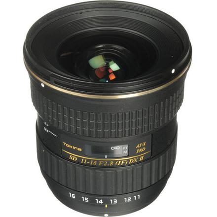 Tokina 11-16mm f/2.8 AT-X116 Pro DX - EF Mount Lens (APS-C)