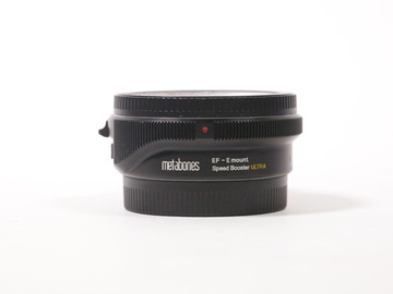 Rent: Metabones EF to E Mount Speed Booster ULTRA 0.71x