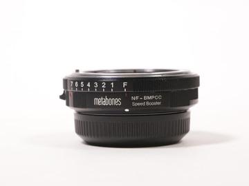 Rent: Metabones Nikon G to BMPCC Speed Booster 0.58x