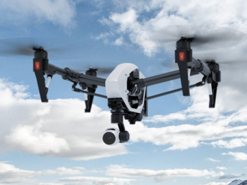 Rent: DJI Inspire 1 Quadcopter