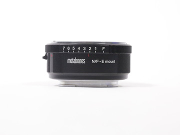 Rent: Metabones Nikon F Lens to Sony E-Mount Camera T Adapter II