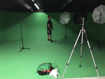 Rent: Cyclorama Green screen