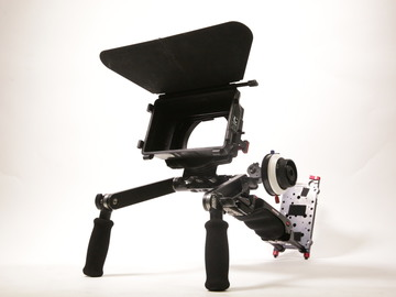 Rent: Zacuto VCT Pro shoulder rig with Mattebox and follow focus