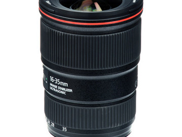 Rent: Canon EF 16-35mm f/4L IS USM Lens