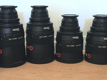 UniqOptics Kenji Signature PRIME PL Lense Set.