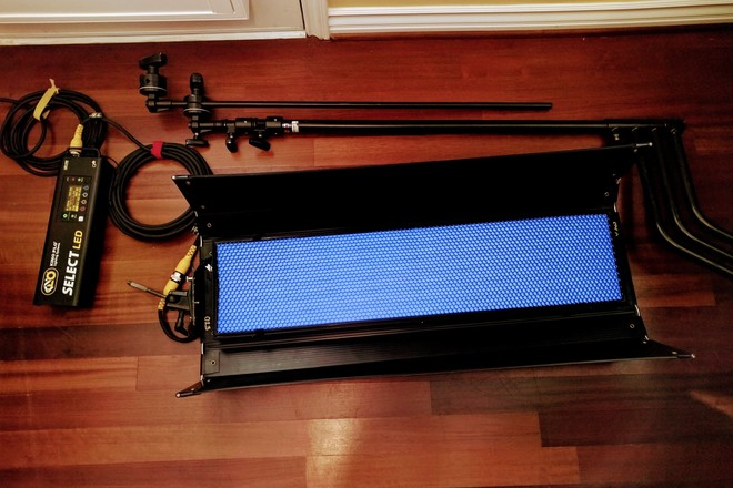 Kino Flo Select LED 30 w/ cables and C-Stand