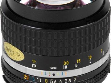 Rent: Nikkor 85mm f/2.0 AIS