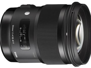Rent: Sigma 50mm f/1.4 Art Canon EF