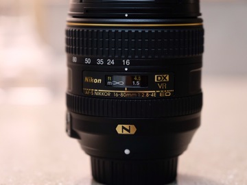 Rent: Nikon AF-S DX Nikkor 16-80mm f/2.8-4E ED VR