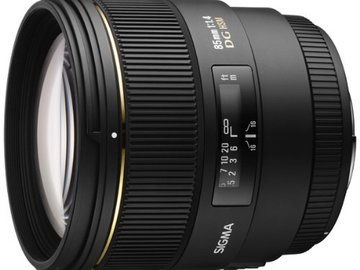 Sigma 85mm f/1.8 Canon EF Mount.