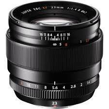 Fujifilm 23mm f/1.4
