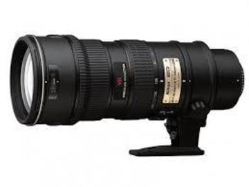 Nikon AF-S Nikkor 70-200mm f/2.8G IF-ED VR