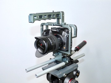 Rent: Axler Professional Cage for Panasonic GH4 & GH3
