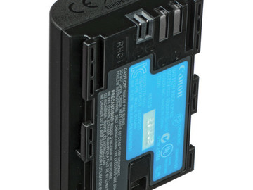 Rent: Canon LP-E6 Battery (1 of 2 available)