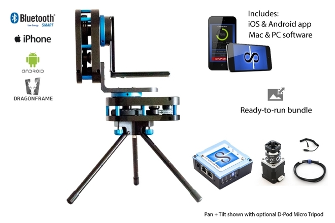 Dynamic Perception Stage R: 3 Axis Motion Control System