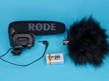 Rent: Rode VideoMic Pro With Dead Kitten Wind Screen