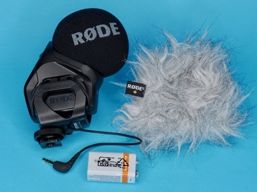 Rent: Rode Stereo VideoMic Pro With Dead Kitten Wind Screen